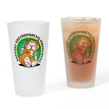 Gastroparesis-Cat Drinking Glass