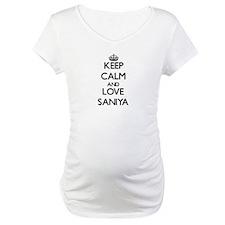 Keep Calm and Love Saniya Shirt