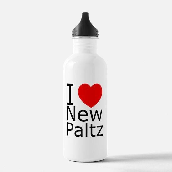 2-iheartnewpaltsdifhea Water Bottle