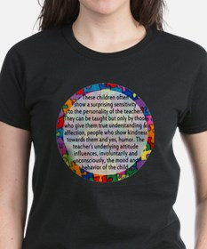 hans quote button Tee