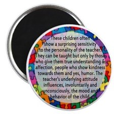 hans quote button Magnet