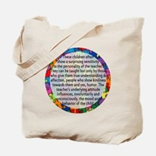 hans quote button Tote Bag