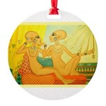 Nefertitis daughters on the phone.jpg Ornament