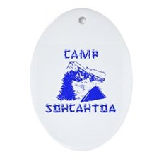 Camp Oval Ornament