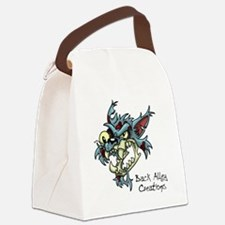 zombie cat 6-6 Canvas Lunch Bag