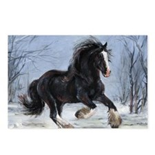 Winter Canter Postcards (Package of 8)