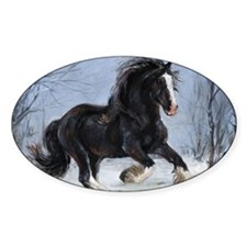 Winter Canter Decal