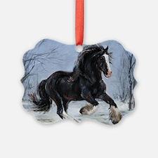 Winter Canter Ornament