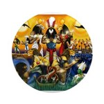 The Gods81.jpg Ornament (Round)