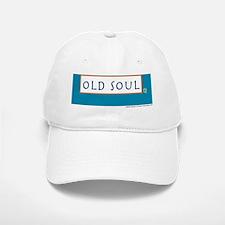 Old soul Teal Baseball Baseball Cap