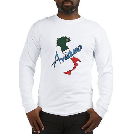 Boot of Italy (Aviano) Long Sleeve T-Shirt