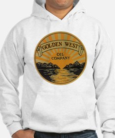 Vintage Golden West Product Labe Hoodie
