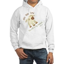 His little lamb Blank Hoodie