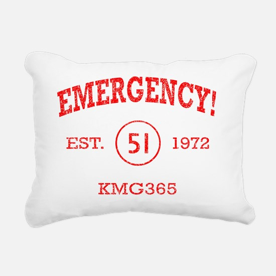 Emergency_athletic Rectangular Canvas Pillow