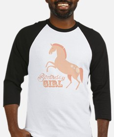 Birthday Girl Pony Baseball Jersey