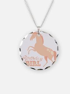 Birthday Girl Pony Necklace
