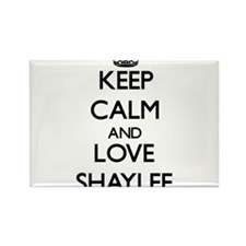 Keep Calm and Love Shaylee Magnets