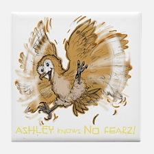 AshleyNoFearDARK Tile Coaster