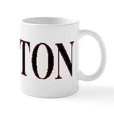 VINTAGE NORTON LOGO BLACK Small Mug