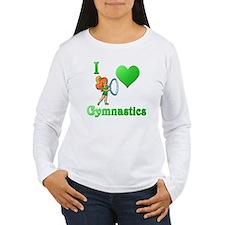 i love gymnastics #2 T-Shirt