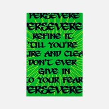 Persevere Rectangle Magnet