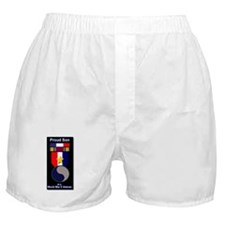 Proud Son of WWII 29th Div Soldier Boxer Shorts