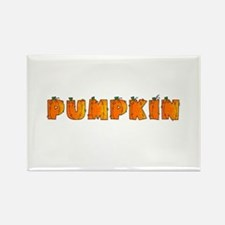 pumpkin Rectangle Magnet