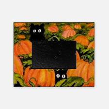 pumpkinspatchcats_miniposter_12x18_f Picture Frame