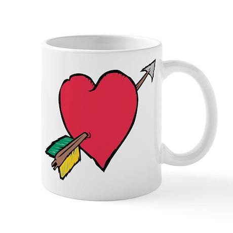 Pierced Heart Mug