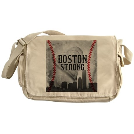 Boston Strong by Vetro Jewelry & Des Messenger Bag