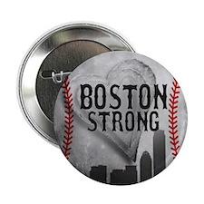 "Boston Strong by Vetro Jewelry & Desi 2.25"" Button"