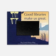 Good Library Tote front Picture Frame
