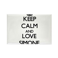 Keep Calm and Love Simone Magnets