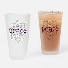 PeaceLotus Drinking Glass