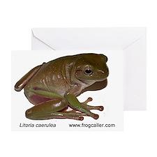 Whites  treefrog Greeting Card