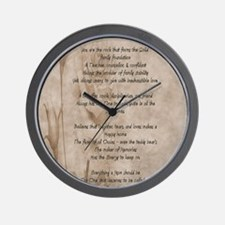 STAHM FP Wall Clock