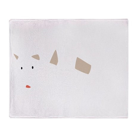 Chill Out Polar Bear Throw Blanket