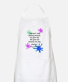 stop-playing-outside Apron