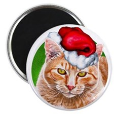MeowyChristmasCircle Magnet
