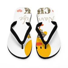 navywifechickDkT Flip Flops