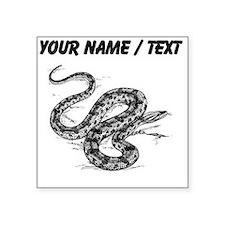Custom Anaconda Snake Sticker
