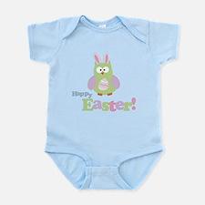Happy Easter Owl Infant Bodysuit