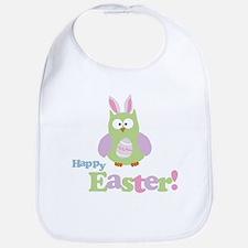 Happy Easter Owl Bib