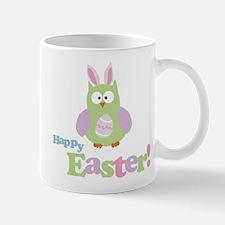 Happy Easter Owl Mug