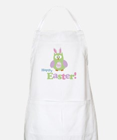 Happy Easter Owl Apron