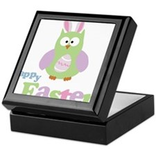 Happy Easter Owl Keepsake Box