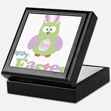 Happy Easter Owl Keepsake Box