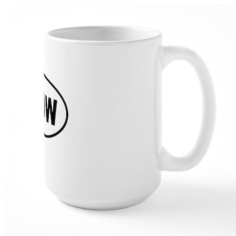 WDW Bumper copy 2 Large Mug