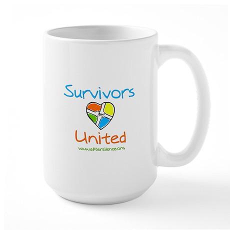 Survivors United Large Mug