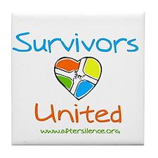 Survivors United Tile Coaster